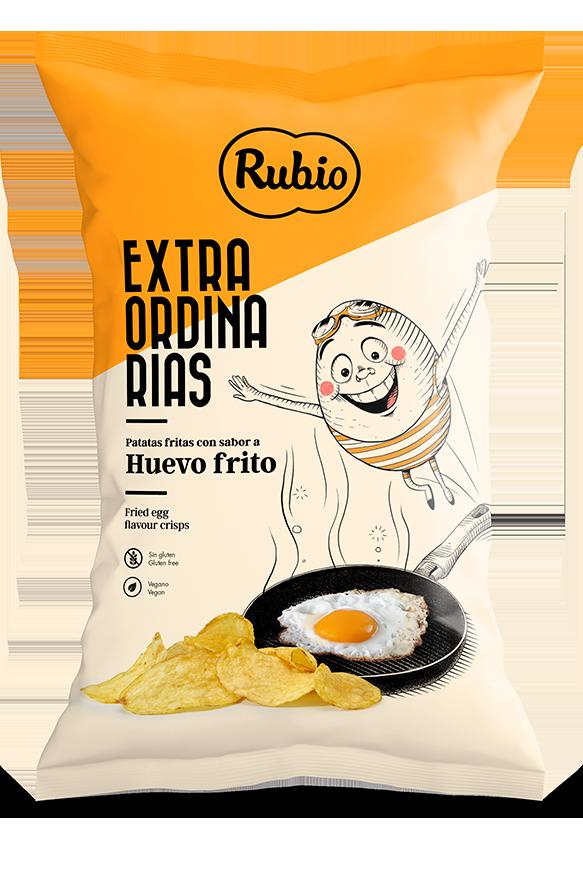 Patatas fritas sabor Huevo frito