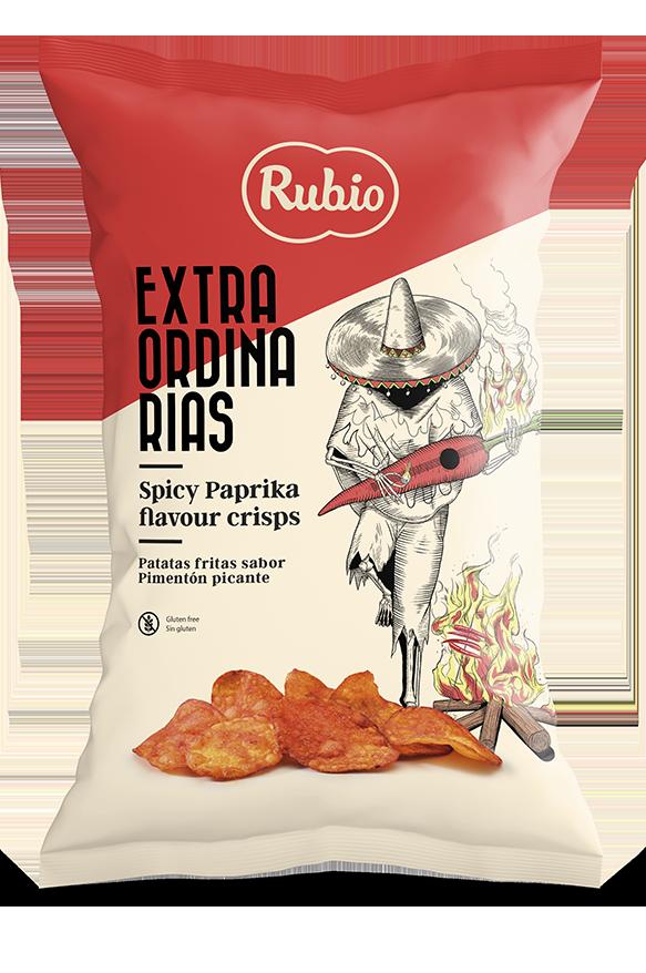 Patatas fritas con sabor a Pimentón picante