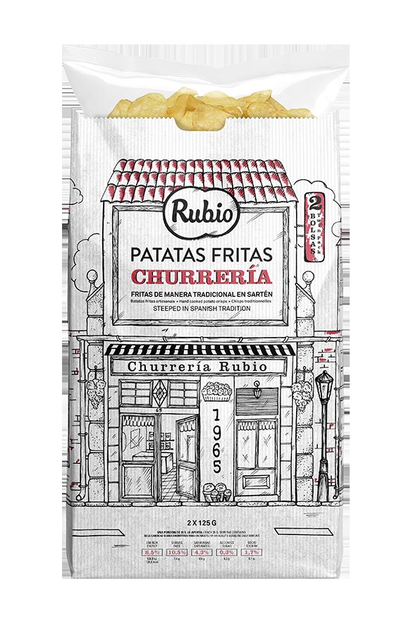 Patatas fritas Churrería